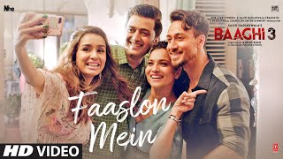 faaslon Mein | Faslon Mein | Cover | Female Version | BAAGHI 3 | Sachet-Parampara