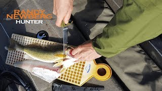 How to Fillet a Walleye with Randy Newberg and Gerber