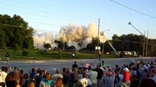 Ocoee Florida Colony Plaza Hotel Implosion Explosion DISNEY