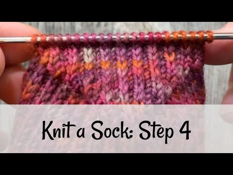 Knit A Sock: Step 4 Turning The Heel