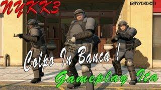 GTA 5 - Gameplay Ita HD - Missione Colpo In Banca