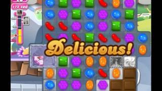 Candy Crush Saga Level 1156 (No booster, 3 Stars)