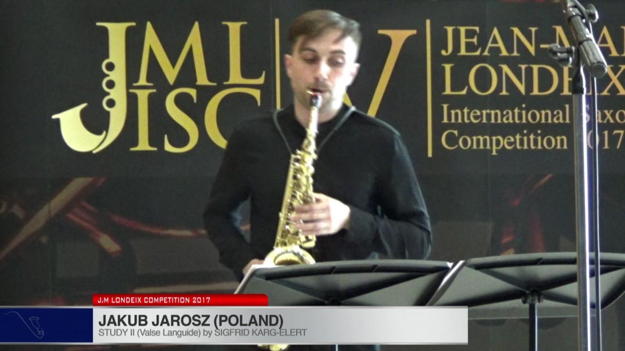 Londeix 2017 - Jakub Jarosz (Poland) - II Valse Languide by Sigfrid Karg Elert