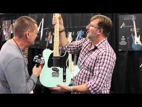 Tom Anderson Interview & Guitars NAMM Booth