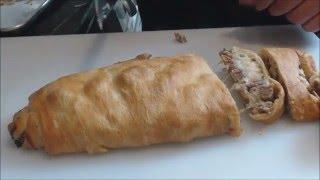 Super bowl sausage bread