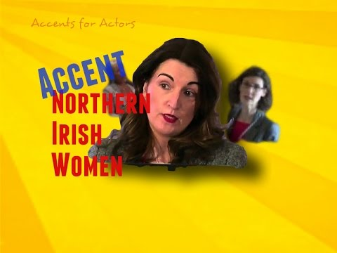 how to write a northern irish accent samples