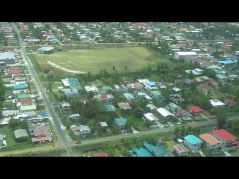 Tour Flight Around Georgetown, Guyana  @ Ogle Airport 2013 HD