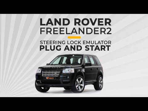 Land Rover Freelander2 Steering Lock Emulator Plug And Start