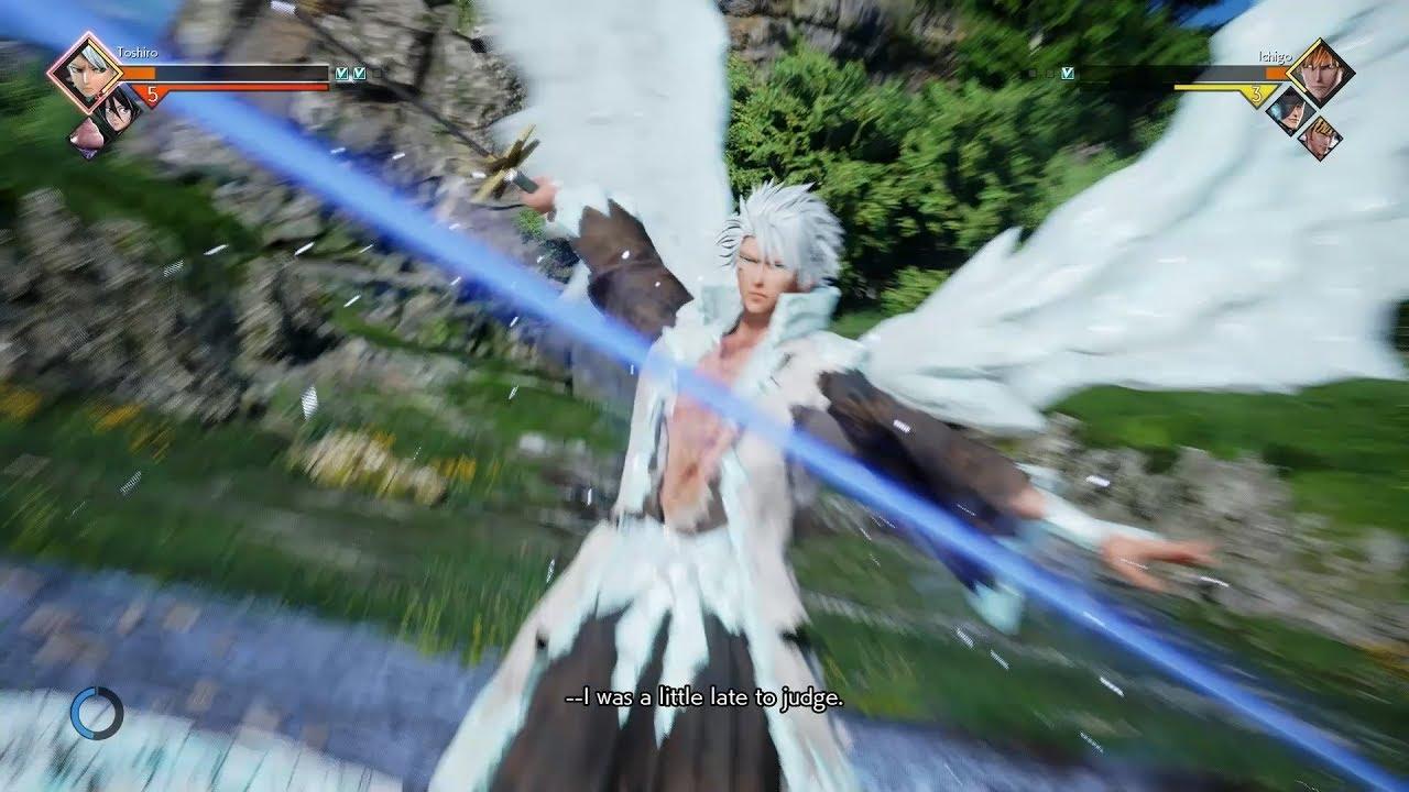 Download Toshiro Hitsugaya Jump Force Gameplay