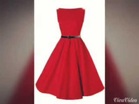 afda2968c Tipos de vestidos 👏 - YouTube