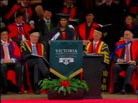 Victoria University Graduation May 2011 - Graduate Speaker Abigail Arulandu