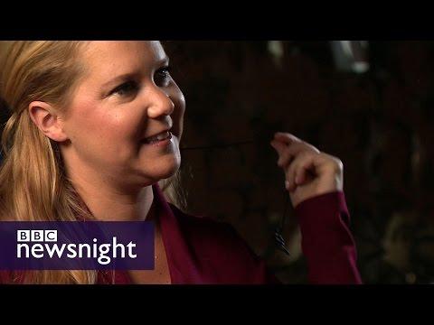 Amy Schumer talks sex, introversion and Trump - BBC Newsnight