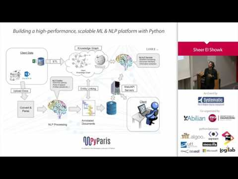PyParis 2017 - Building a high-performance, scalable ML & NLP platform with Python by Sheer El Showk