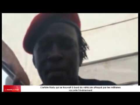 Des artistes engagés togolais qui manifestent aux côtés du peuple essuient des tirs des militaires