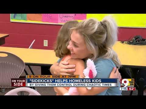 'Sidekicks' helps homeless kids