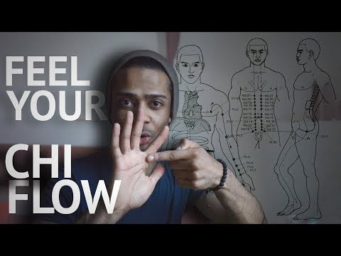 Chi Flow Exercises | How To Push Ki (Out From Your Hands)