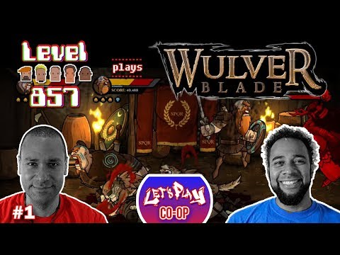 Let's Play Co-op: Wulverblade w/Turbo857 & The 23rd Stallion | Nintendo Switch | Walkthrough Part 1