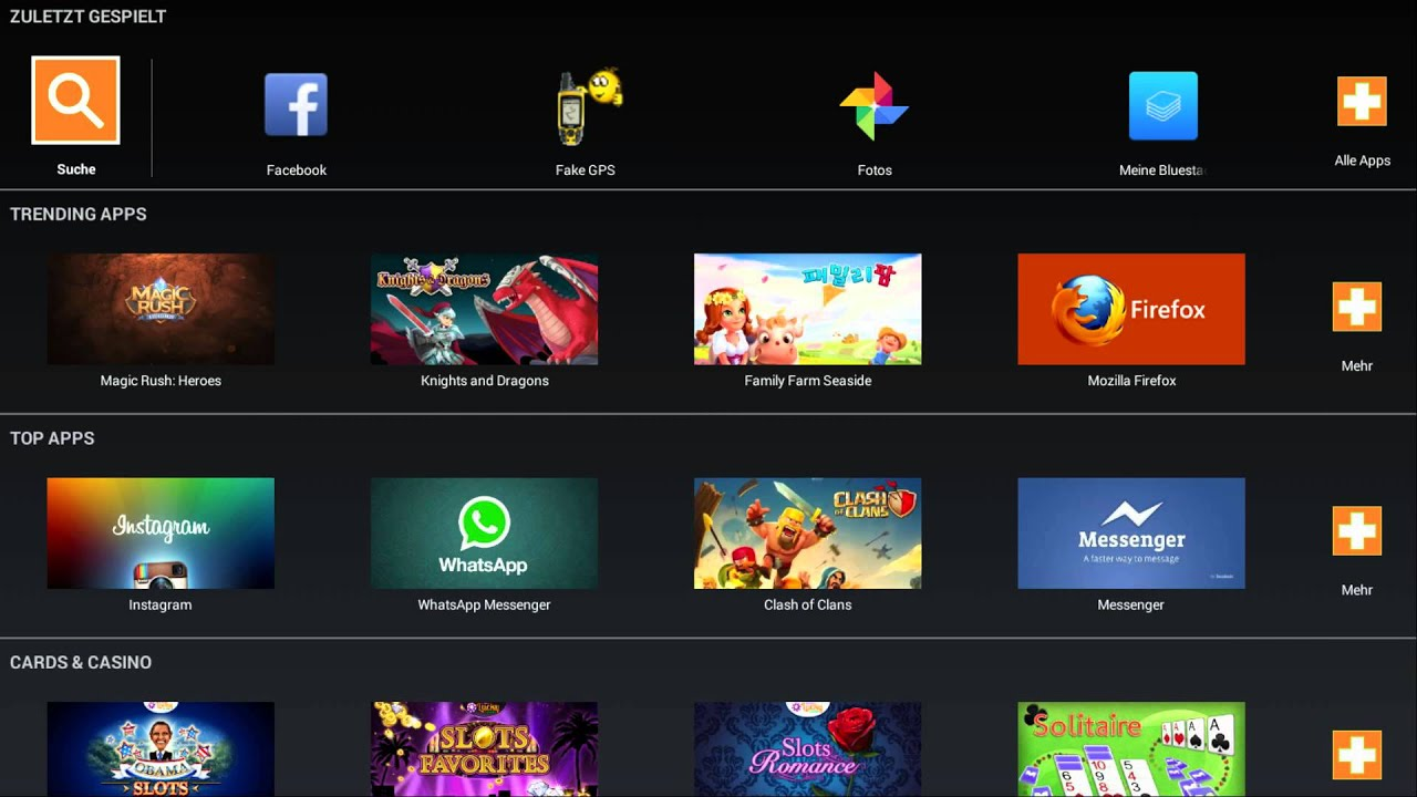 bluestacks android emulator for pc download root