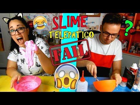 SLIME TELEPATICO TRA FIDANZATI! (TELEPATHIC SLIME) USEREMO LE STESSE COSE? Iolanda Sweets