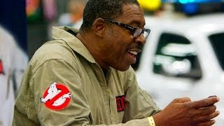 Ghostbuster Ernie Hudson on Harold Ramis's Death and Ghosbusters III (VISIONCON)