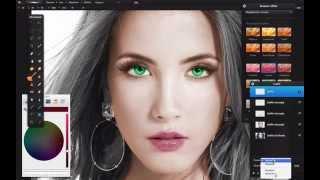 Repeat youtube video Pixelmator: colorare foto in bianco e nero ed effetto color splash
