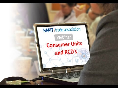 Consumer Units and RCDs
