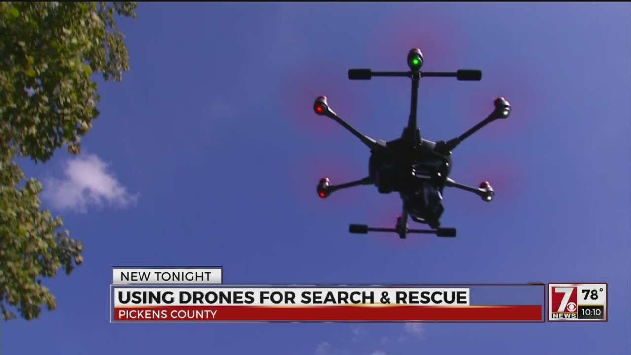 Drones coming to the Pickens County Sheriff's Office