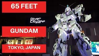 DIVER CITY 65 FEET GUNDAM TOKYO JAPAN --- MUST VISIT