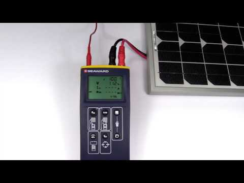 How to perform an automatic test sequence using the PV150