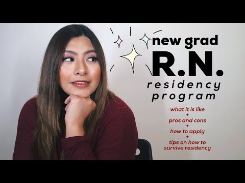 All About The New Grad RN Residency Program | Jamie Kate
