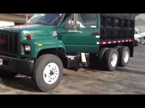 2002 GMC C8500 Tandem Axle Dump Truck For Sale - YouTube