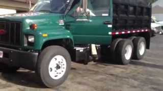 2002 GMC C8500 Tandem Axle Dump Truck For Sale