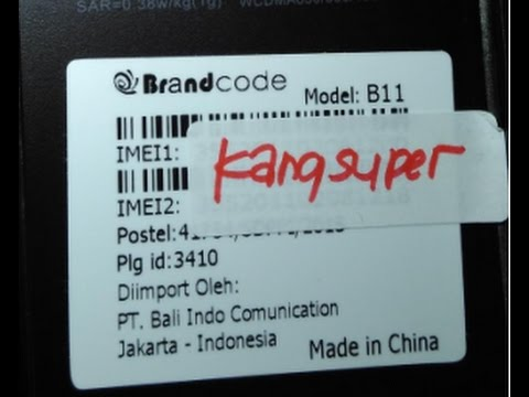 Cara Flash Brandcode B11 Tanpa Box Flash Youtube