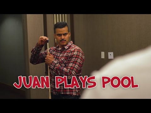 Juan Plays Pool - David Lopez