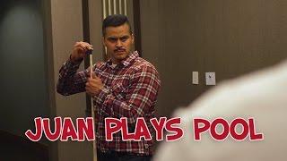 Juan Plays Pool - David Lopez
