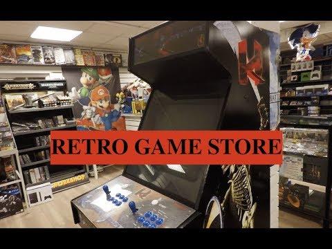 GameShop (Video Game Store) - Stockholm, Sweden [Tour of shop]
