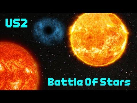Battle Of Stars! [Every Star Battle] - Universe Sandbox 2