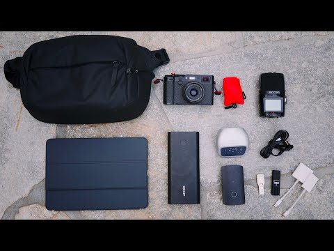 MY EVERYDAY CARRY BAG FOR MINIMALIST MUSIC AND FILM PRODUCTION (EDC)