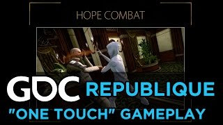 Designing Republique's One Touch Gameplay
