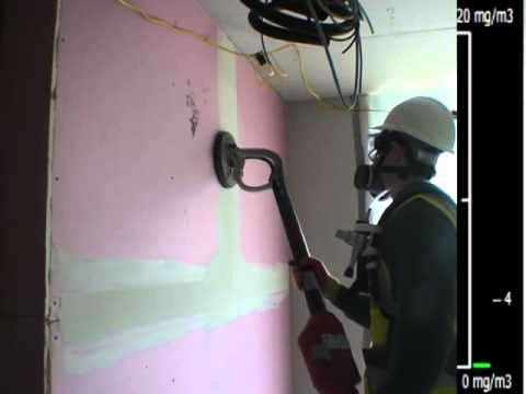 Plaster Sanding Controlled