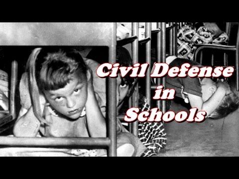 History Brief: Civil Defense at School (1950s Cold War)