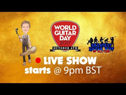 CGS Live on World Guitar Day 2017 - Re-upload due to Guns 'n' Roses