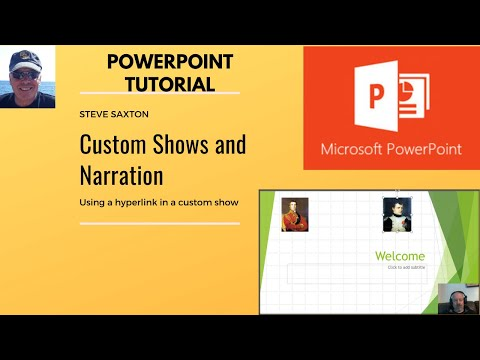 How to create Custom shows and use narration in Microsoft PowerPoint