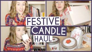 Festive Candle Haul Thumbnail