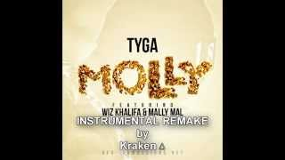 Tyga ft. Wiz Khalifa & Mally Mal - Molly (Instrumental Remake)