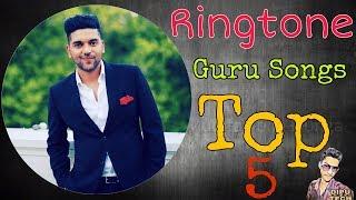 Guru Randhawa Songs Ringtone | top 5 ringtone punjabi songs | Lahore,hai ni nakhra,patola,meri rani,