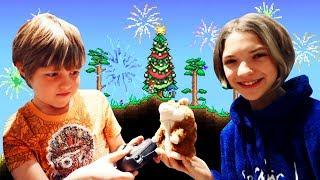 Видео обзор Террарии и подарки на Новый год! - Что круче?
