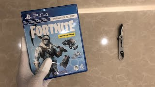 "Fortnite ""Deep Freeze Bundle"" Unboxing (PS4) In the style of TheRelaxingEnd"
