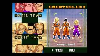 Vegeta/Piccolo vs Goku Team | Dragon Ball Z Supersonic Warriors [GBA]