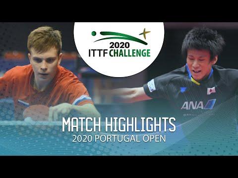Vladimir Sidorenko Vs Shunsuke Togami   2020 ITTF Portugal Open Highlights (U21 Final)